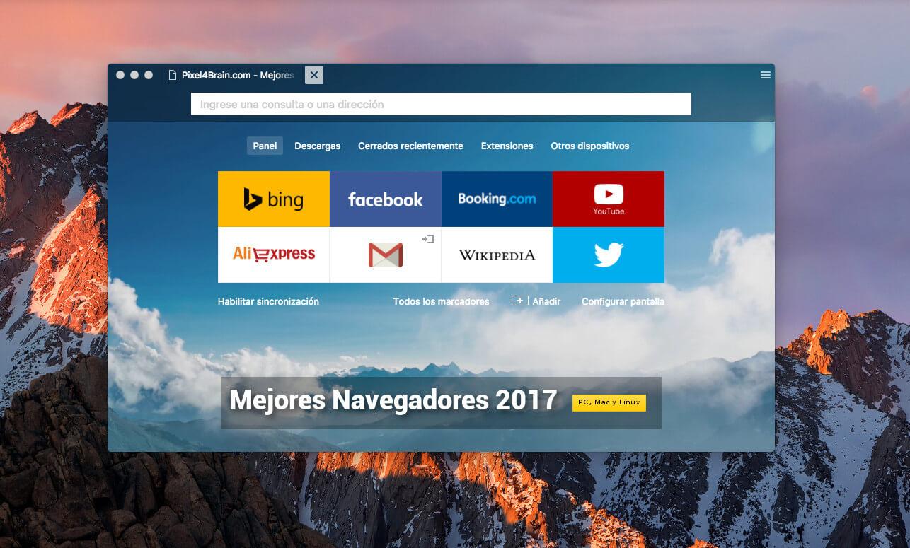 9 Mejores Navegadores para Windows PC (Livianos y Nuevos) - Vivantic